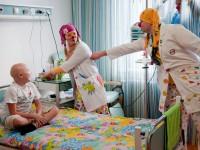 Больничная клоунада. Помощь тяжелобольным детям
