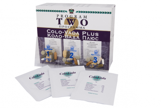 Программа очищения организма Коло-Вада плюс