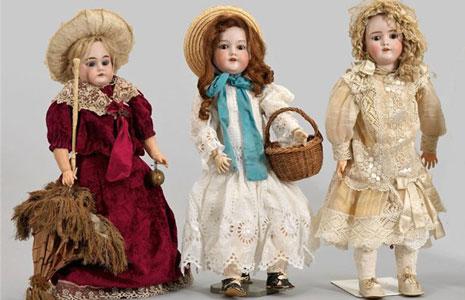 Старинные детские игрушки