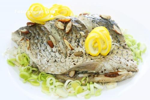рыба с укропом и лимоном