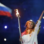 Церемония открытия зимних Олимпийских игр в Сочи (фото, видео)